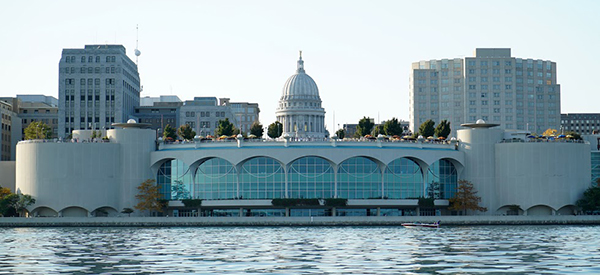 Madison view from Lake Monona